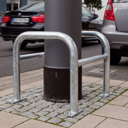 Square Lamp Post Protectors