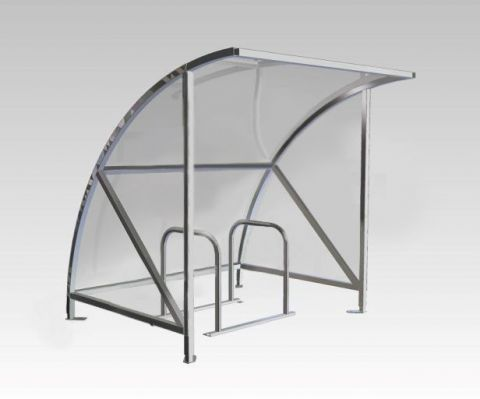 Eco Cycle Shelter (Cycle Spaces From 4 to 14)
