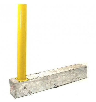 Fold Away (Coffin) Yellow Parking Post