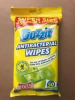 Duzzit Antibacterial Jumbo Extra Strong Cleaning Wipes 50s