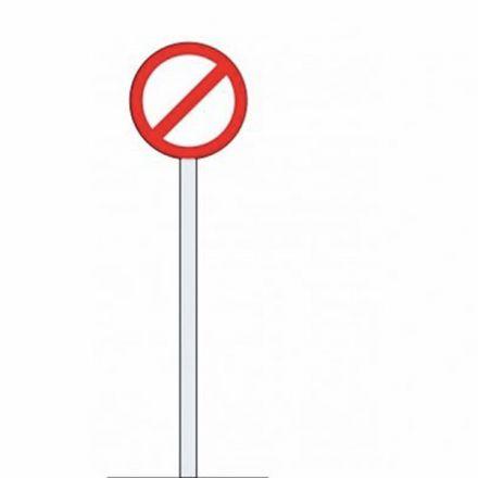 Straight Steel Signposts (114.3mm x 3.0mm)