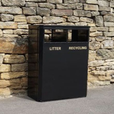Eco Litter & Recycling Bin