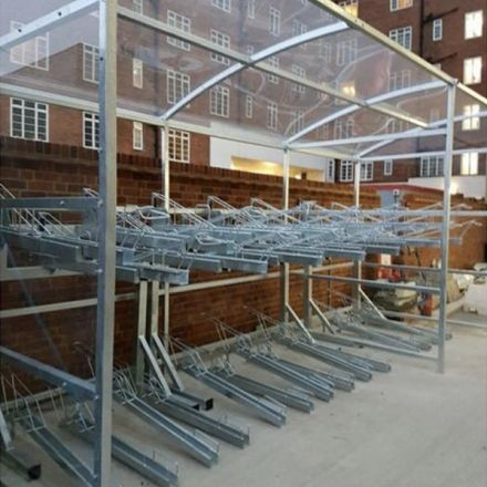 Two Tier Cycle Shelter