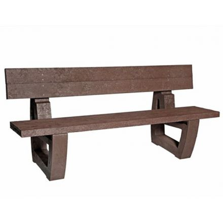 Plastic Fully Moulded Bench