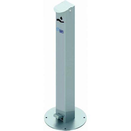 Floor Mounted, Pedal Operated Dispenser For Sanitiser