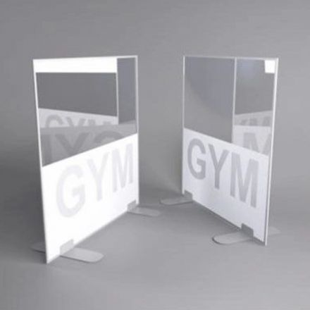 Gym Treadmill Screen dividers