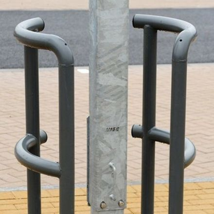 Lamp Post Protector (split)