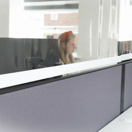 Clear Automatic Roller Blind Protection Screens