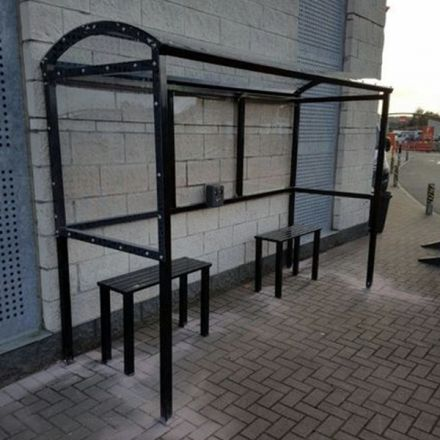 Open Fronted Smoking Shelters