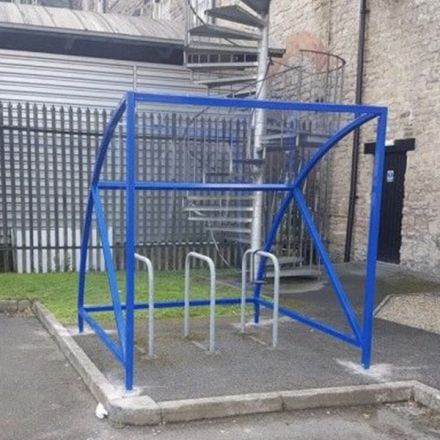 Cycle Shelter - 6/8 Space Cycle Shelter & Bike Stands (Mini)