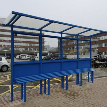 Cantilever Bus Shelter