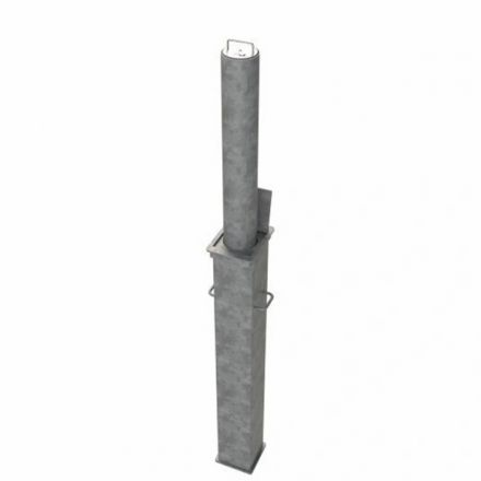 Galvanised Telescopic Bollard