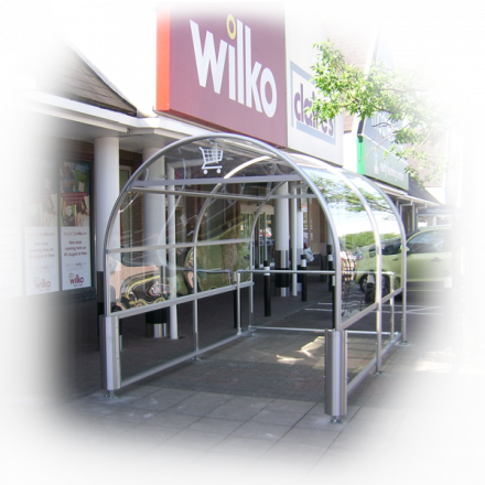 Eco 3 Shopping Trolley Shelter