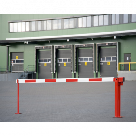 COMPACT Boom Barrier with Gas damper