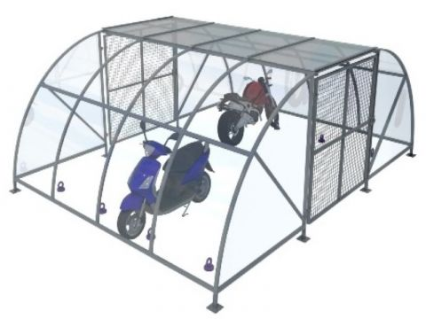 8 Capacity Motor Bike Compound