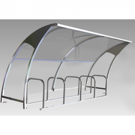 Little Bridge Cycle Shelter