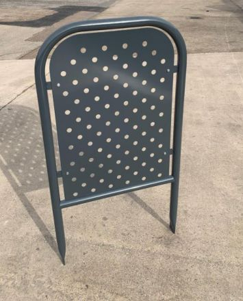 Door Protection Hoop - Perforated Infill