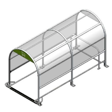 Eco 1 Shopping Trolley Shelter