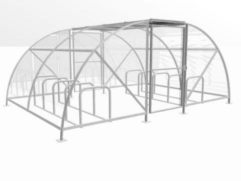 20 Cycle Eco Compound with Racks