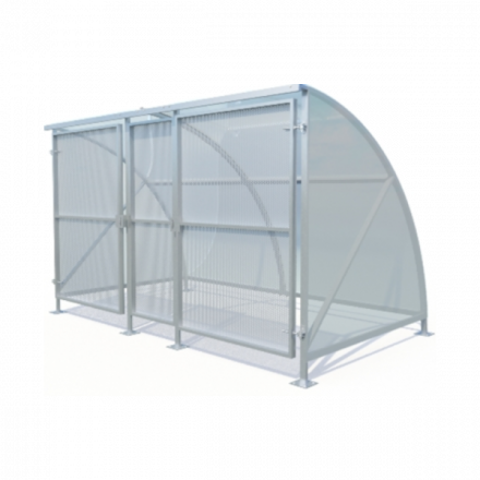Gated Eco Cycle Shelter