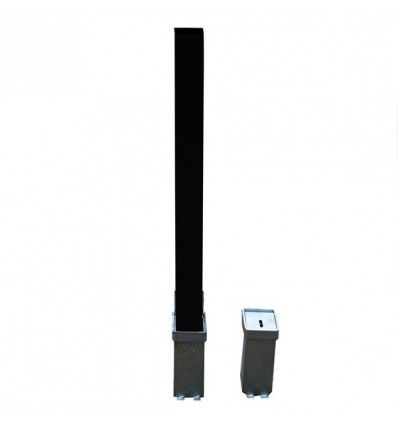 Heavy Duty Black Removable Parking & Security Post
