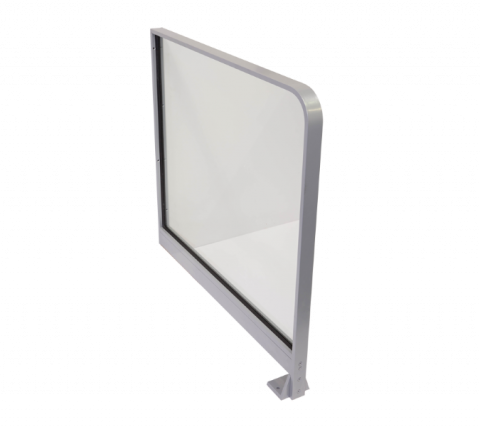 Door Barrier with Glass Infill