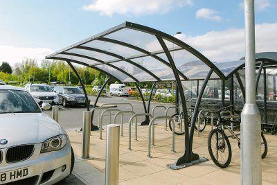 Penton Cycle Shelter