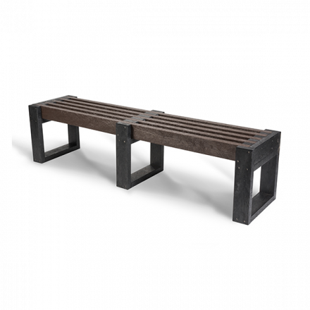 Recycled Plastic Edge Bench