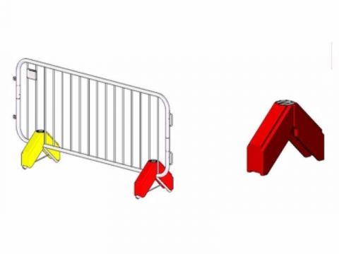 Crowd Barrier Weights