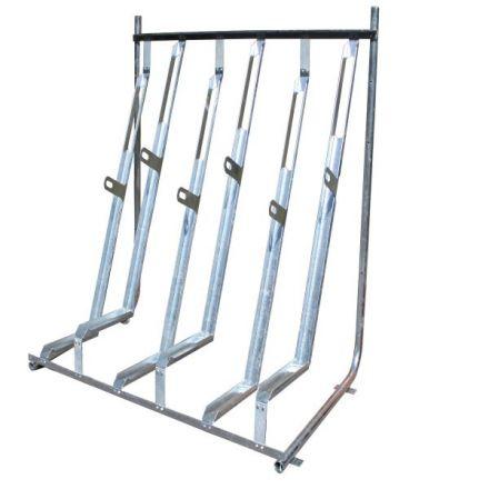 Semi Vertical Cycle rack