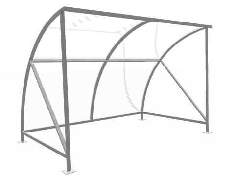 8 Person Capacity Smoking Shelter