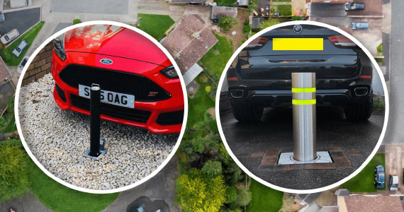 security bollard for cars